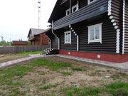 Григорово. Новый дом в деревне из оцилиндрованного бревна с отличной п - Фото 5