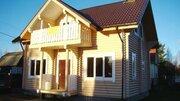 Продажа деревянного дома из калиброванного бревна площадью 100 кв. м, - Фото 1