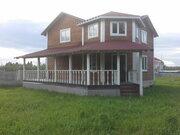 Дом 190 м2, 17 соток, Прописка, 95 км по Яросл.ш. - Фото 1