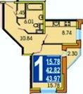 Продается 1-комнатная квартира в Пушкино, Московский проспект, д.57 - Фото 1