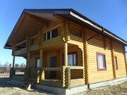 Готовый к проживанию бревенчатый дом у пруда - Фото 1