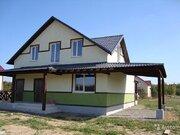 Продается дом для ПМЖ в охраняемом коттеджном поселке в окружении леса - Фото 1