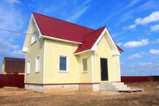 Благоустроенный дом в жилой деревне рядом с с.Филипповское на 12 сотка - Фото 1