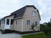 2-эт. зимний дом 80 м2 (брус) на уч. 6 сот, ст. Столбовая СНТ Осинки - Фото 1
