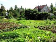 Участок-сад 9 соток, рядом озеро и лес. Магистральный газ. 45 км МКАД.