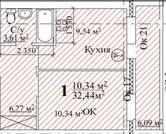 Продаю1комнатнуюквартиру, Мончегорский, м. Парк культуры, улица .