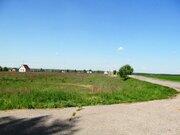 Ровный, сухой участок в ДНП Лесное - 80 км Щелковского ш. - д.Юрцово - Фото 1