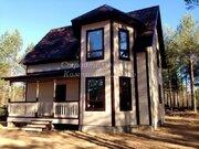 Новый дом у реки Векса, прописка, сосновый лес. - Фото 1