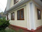 Благоустроенный 2 эт. дом 100 кв.М. баня гараж все удобства + 12 соток - Фото 1