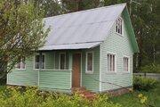 Д.Бабурино Дом на 9.5 сотках с выходом в лес. рядом озеро - Фото 1
