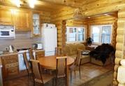 Новый меблированный дом из оцилиндрованного бревна 100м2 4с все ком-ии - Фото 3