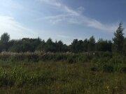 14 соток, лпх, д. Спас-Темня Чеховский р-н, лес, река, асфальт - Фото 2