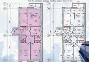 3 комнатная в новом доме Центральный район