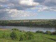 Живописный участок на берегу реки Ока в деревне Лужки, площадь 22 сотк - Фото 1