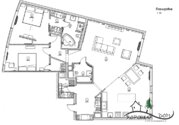 23 000 000 Руб., Роскошная квартира с эксклюзивным дизайнерским ремонтом в мжк, Купить квартиру в Зеленограде по недорогой цене, ID объекта - 318016953 - Фото 39