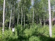 Шикарный участок 15 сот в 2 км от г.Чехов, д.Репниково. - Фото 1