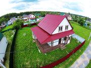 Продается 2-х этажный дом 160 кв. м. на участке 10 соток в с/т Берёзка - Фото 1