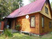 Двухэтажный дом площадью 130 кв.м на участке 10 соток в жилой деревне. - Фото 1