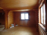 Дубна с, СНТ Ромашкино, дом 130 кв м. из оцилиндрованного бревна. - Фото 3