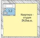 Продам 1ккв-Студию 25кв.м. г.Ижевск, пр.Щедрина,16. 2/2к - Фото 4