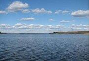 Участок 55 соток на 1-й линии р. Волга в д. Плоски - Фото 1