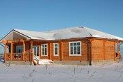 Новый красивый котедж в жилой деревне, 66 км отмкад - Фото 2