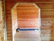 Дом д Тимшино 110м новый брусовой обшит сайдингом газ свет вода 15сот - Фото 4