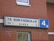 1комн.кв.евроремонт диз, ул.Кожуховская 7-я, д.4, к.1, м. Автозаводская