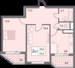 Продаю двухкомнатную квартиру в микрорайоне Правобережье - Фото 5