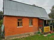 Дом в СНТ Кузнечики, обложен кирпичем на участке 6,5 соток - Фото 2