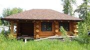 Загородный дом и баня из кедра ручной рубки, Минское шоссе, охрана - Фото 2