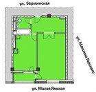 Продажа однокомнатной квартиры на Малой Ямской, Купить квартиру в Нижнем Новгороде по недорогой цене, ID объекта - 302464601 - Фото 13
