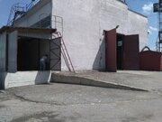 Склад 720 кв.м, ж/д ветка, пандус, башен.кран - Фото 1