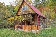 Домовладение: дом-сруб, баня-сруб, на участке 30 соток в с. Ольгинка - Фото 1