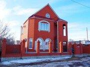 Новый двухэтажный коттедж с мебелью в г. Усмань Липецкой области - Фото 1