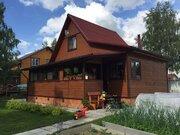 Рязанцево. Дом 100 м2 на ухоженном участке 14 соток, 85 км. Киевское ш - Фото 1