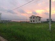 Земельный участок с недостроенным домом 126 кв.м. - Фото 1
