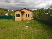 6 соток 45 км пгт Любучаны (дер. Шарапово) дом-баня 6х6 Чеховский - Фото 5