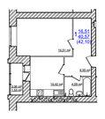 1 670 000 Руб., Купить квартиру в Жилом доме на Моховой, Купить квартиру в новостройке от застройщика в Ярославле, ID объекта - 325151262 - Фото 27