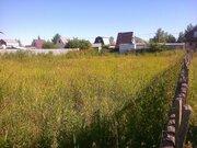 Участок 7,2 сот, Можайское ш,48 км от МКАД, д.Чапаевка, СНТ Поречье - Фото 1