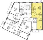 7 200 000 Руб., Продается отличная 2-х комнатная квартира, Купить квартиру в новостройке от застройщика в Москве, ID объекта - 316911969 - Фото 2