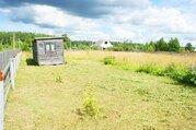 Огороженный дачный участок 12 соток с бытовкой в Шаховском районе МО
