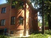 Дом с участком г. Щелково. 300м2 кирпич.+150м2.Бревно - Фото 1