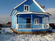 Новый дом с видом на озеро Савельево - Фото 1