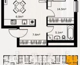 9 604 033 руб., Продажа квартиры, Купить квартиру Рига, Латвия по недорогой цене, ID объекта - 313138873 - Фото 2