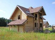 Дом из оцилиндрованного бревна 150м, Раменское, д.Бояркино, - Марково - Фото 2
