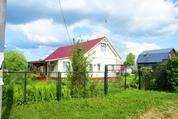 Дом в тихой жилой дер. Телешово среди водоемов рядом с заповедником - Фото 1