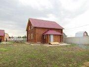 2 эт. 160 м, рубленный дом, рустик, жилой, д.Цибино. - Фото 1