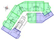 Продажа двухкомнатная квартира 68.53м2 в ЖК Рощинский дом 7.2. секция . - Фото 2