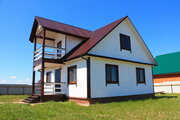 75км от МКАД готовый к проживанию дом с газовым отоплением - Фото 1